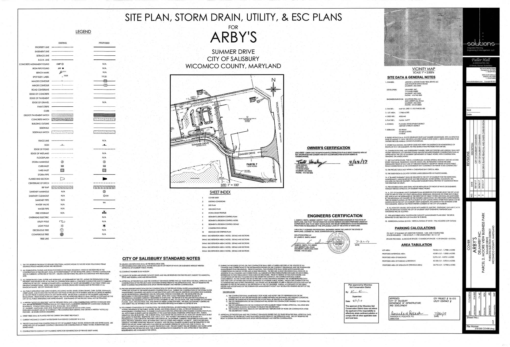 Arby's Approved Site Construction Plans - Revised 7-26-17 1.jpg