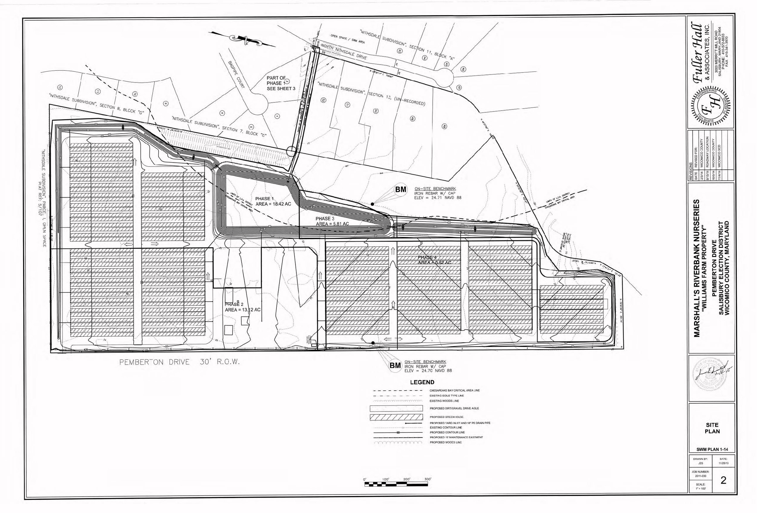 Marshall's riverbank nurseries - Wicomico County, Maryland
