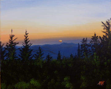 Mount Greylock at Dusk
