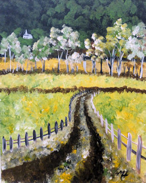 Tyringham Country Road