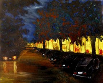 Stockbridge at Night