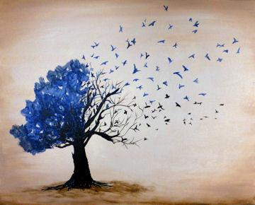 Bird Tree (any color)