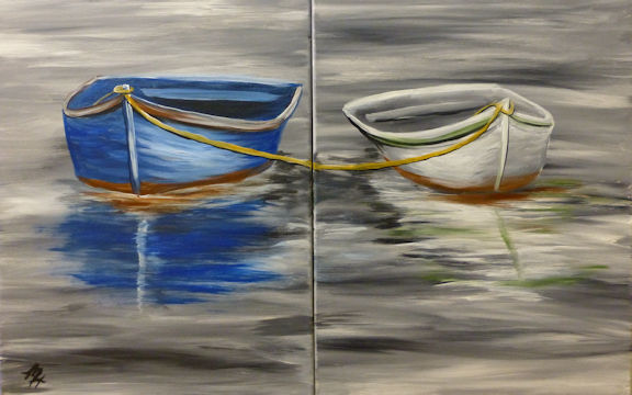 Fishing Boats - Partners Painting