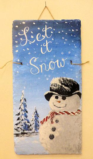 Let it Snow Snowman