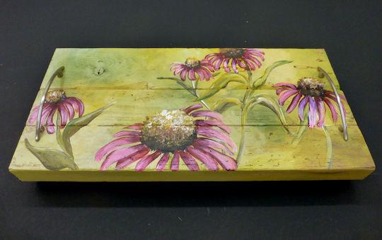 Echinacea Flower Tray