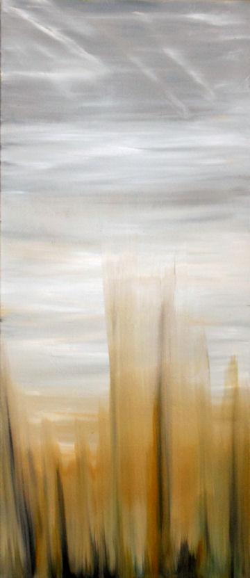 Whispy Grass - 15x34 oil