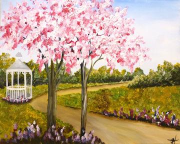 Blossoming Gazeebo Park