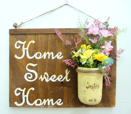 Home Sweet Home Sign 2