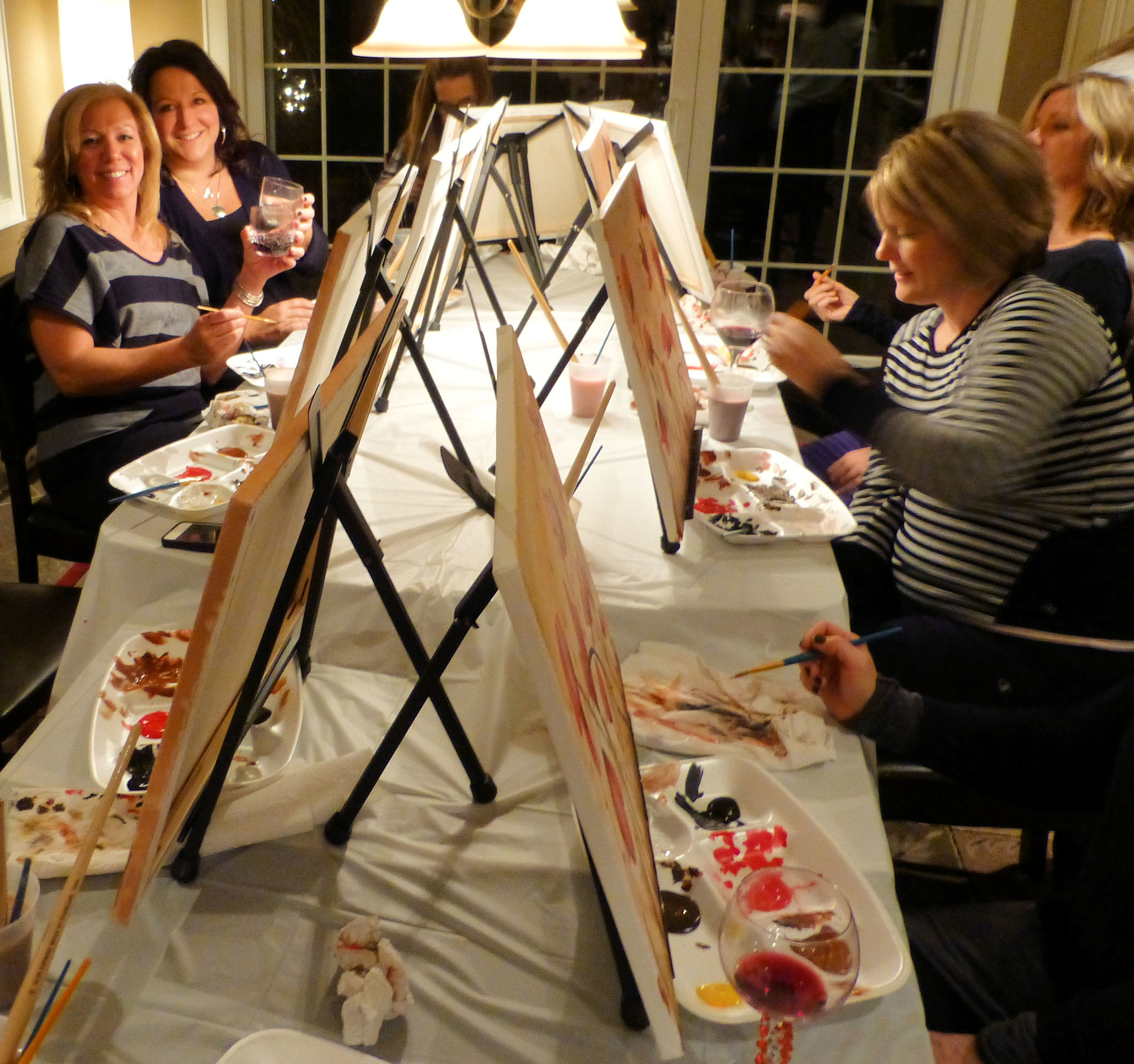 Top Tips to Paint and Sip at Home