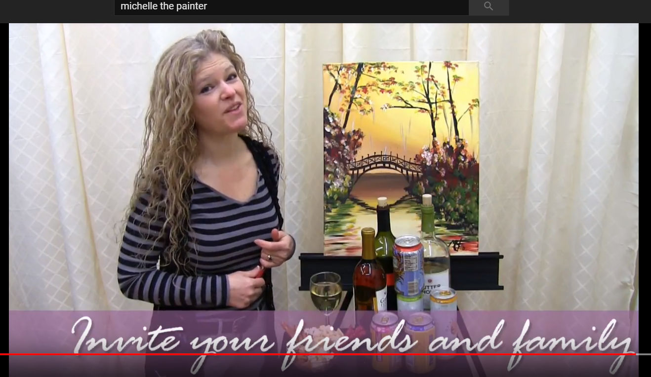 TOP TIPS FORPAINTING & SIPPING AT HOME - Video