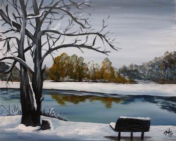 Cheshire Lake in Winter