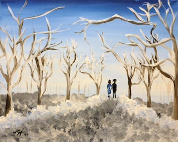Winter Orchard Stroll