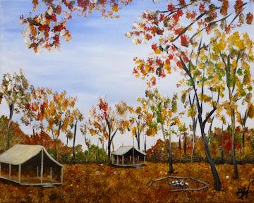Camp Sloane in Autumn