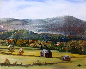 Mount Greylock in Autumn