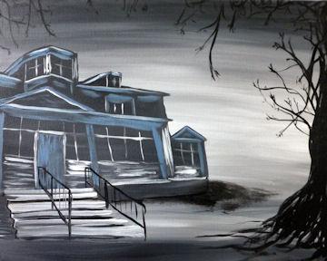 Haunted Houghton Mansion