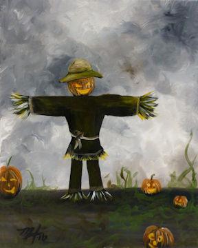 Scarecrow Jack-O-Lantern