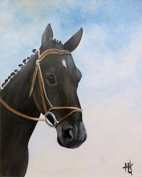 4 Star General Horse