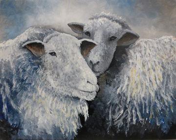 Shabby Chic Sheep