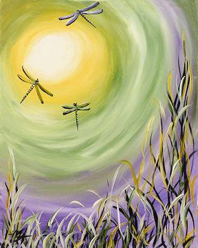 Sunshine Dragonflies