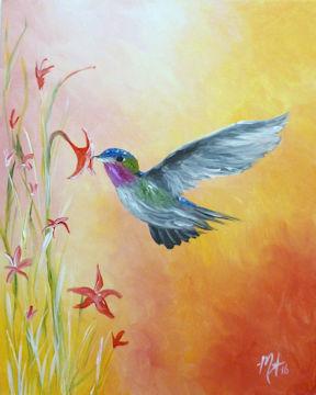 Hummingbird in Summer