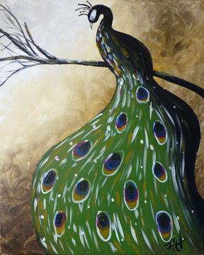 Pristine Peacock