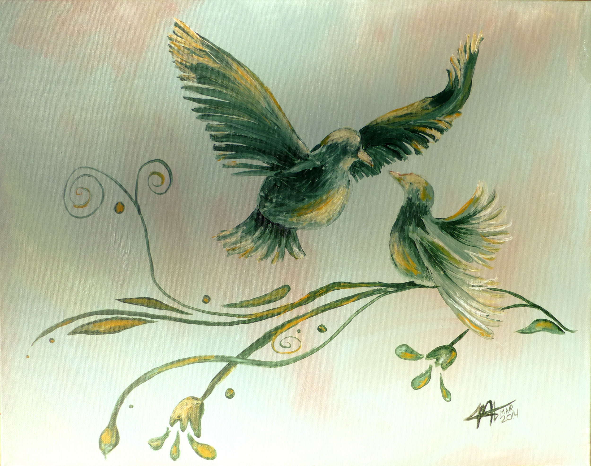 Green Doves