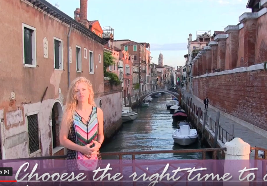 VENICE ITALY PAINT & SIP TIPS - Video