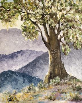Mountain Love Tree