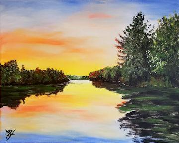 Smith Pond Sunset