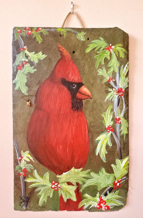 Cardinal in Holly