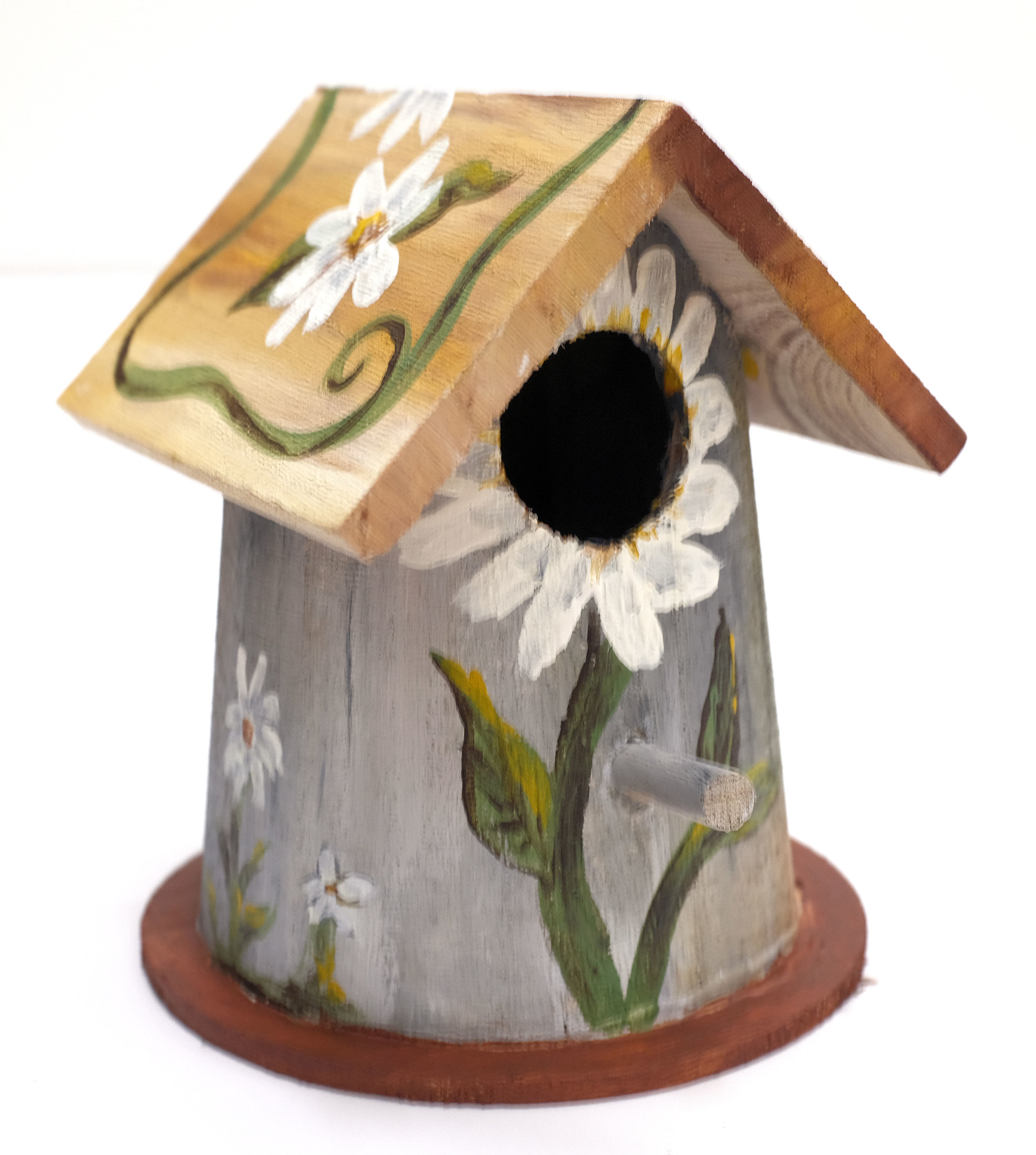Daisy Finch Bird House