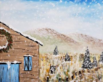 Country Winter Farm