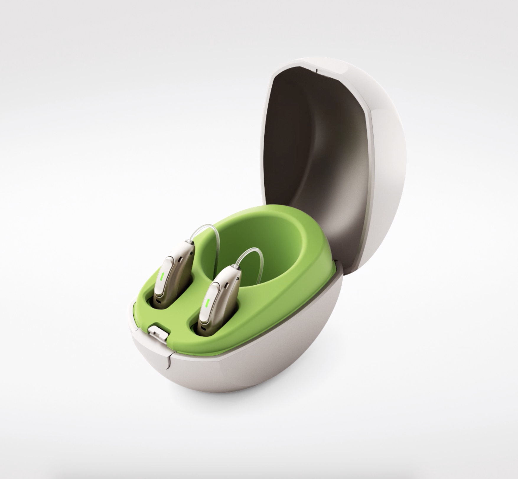 Reclaim Phonak's technological leadership - In 2019, Phonak set out to revolutionize the category by introducing the first hearing aid layered with benefits that superseded just sound quality: universal bluetooth connectivity (compatible with all mobile phones), language translation, remote fittings, transcription and rechargeability. Additionally, the design of the product was sleek and stunning.