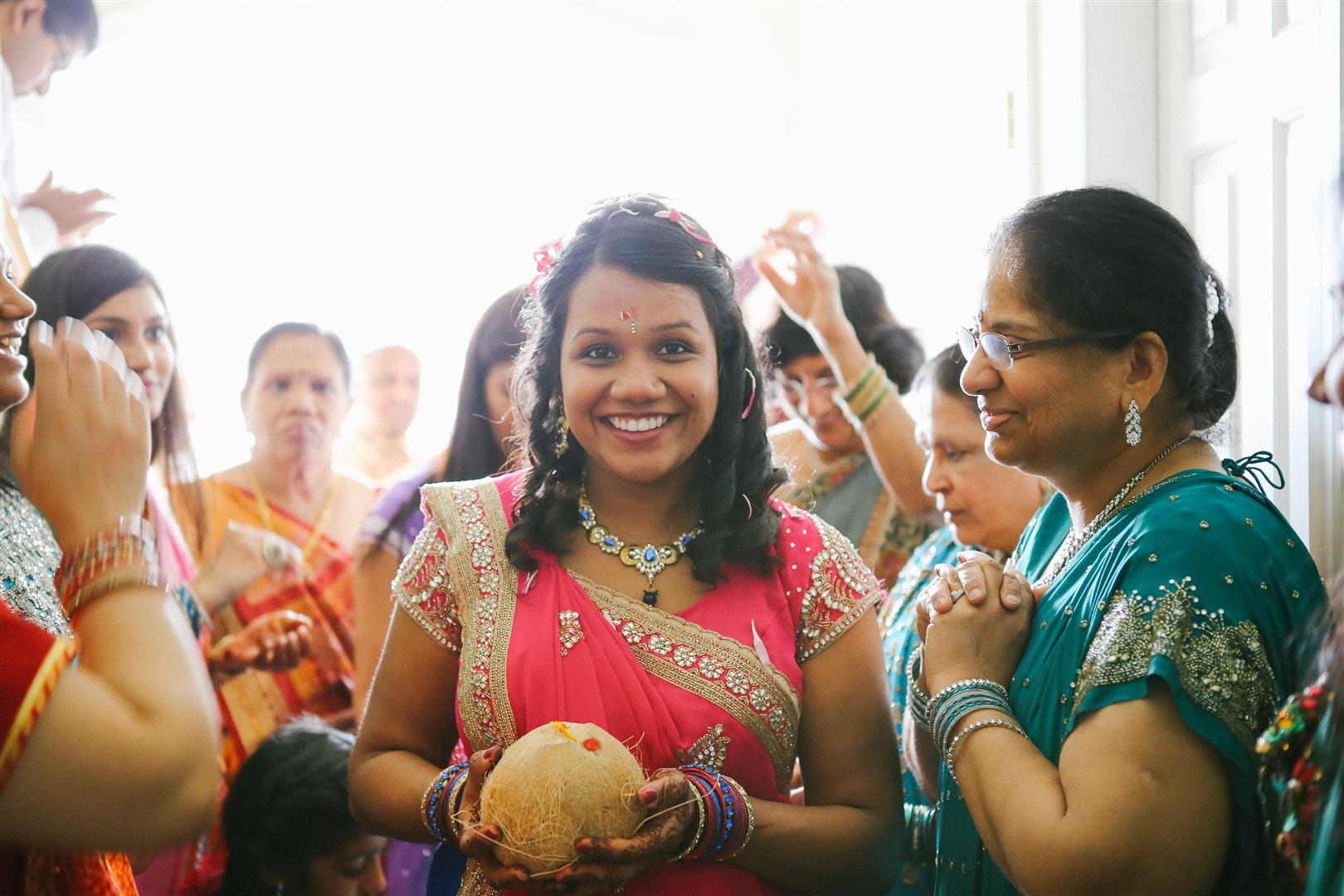 Traditional Indian baby shower