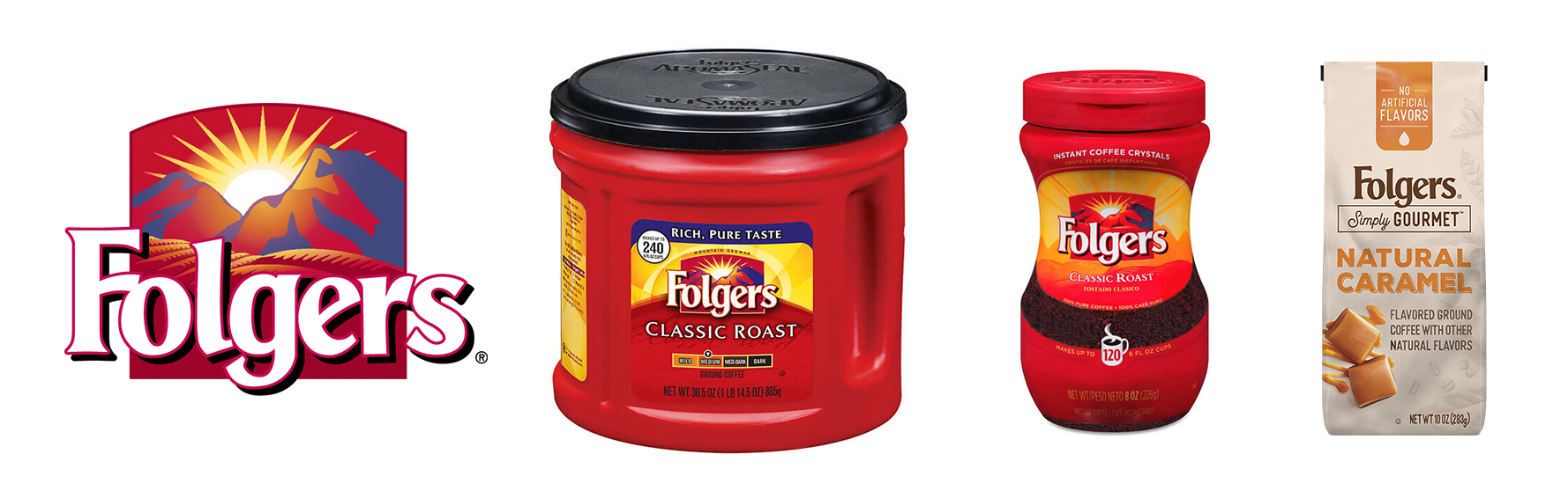 Folgers Current Products