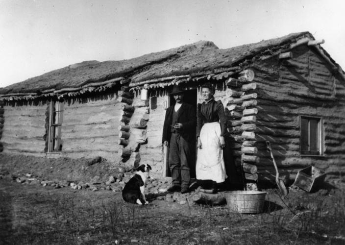 Det virkelige nybyggerliv var hårdt, og langt de fleste endte med at leve et lige så fattigt liv, som det de i sin tid var flygtet fra.