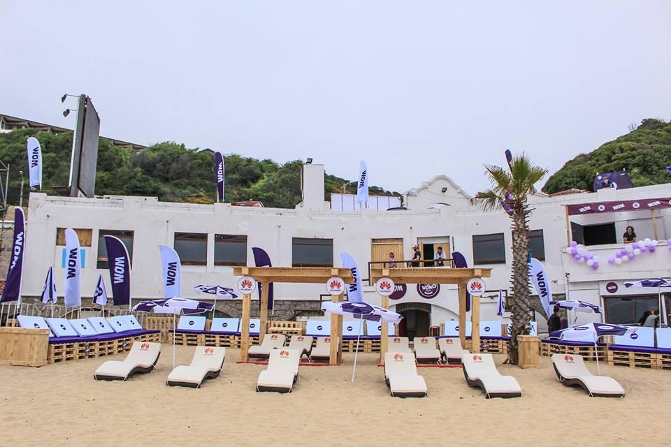 WOM BEACH / LANZAMIENTO 4G -