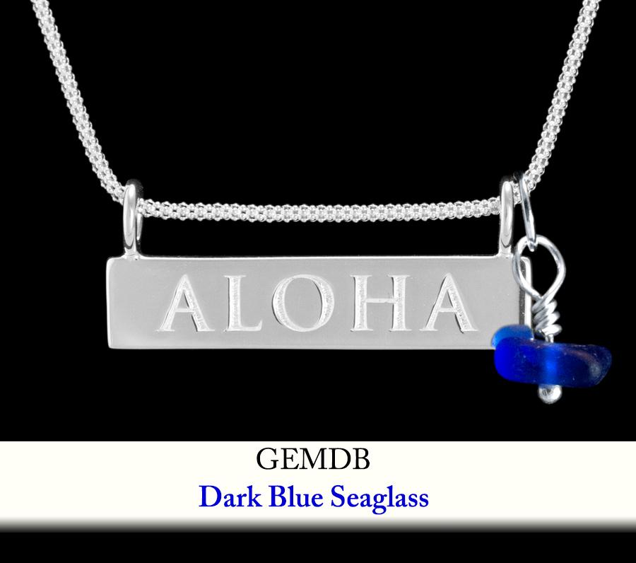 Dark Blue Seaglass Gem Enhancer