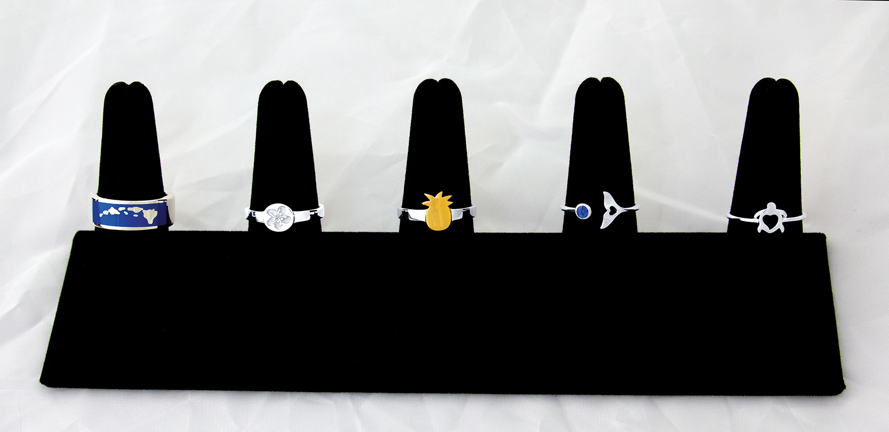 HHD Rings Collection Display