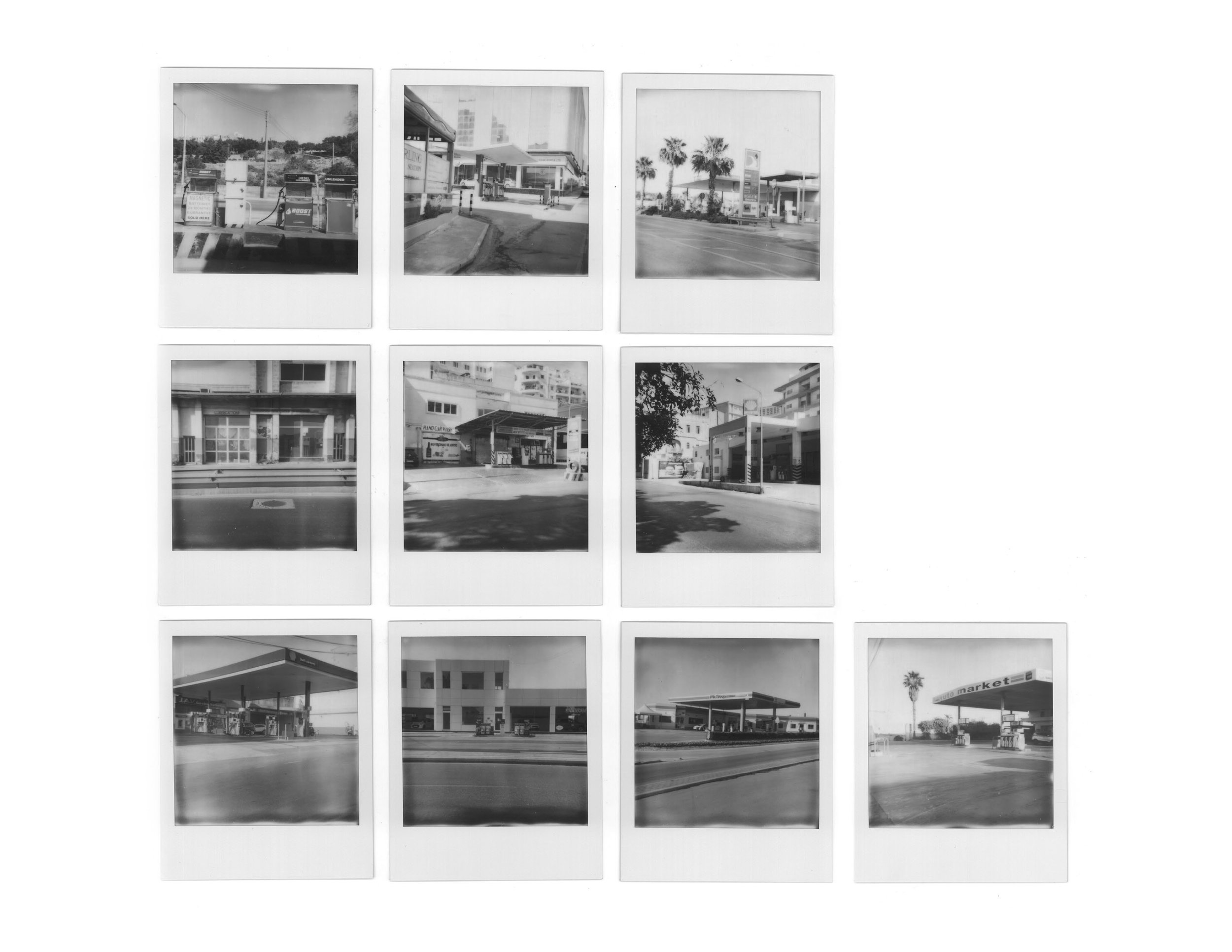 Fuel Stations | Polaroids