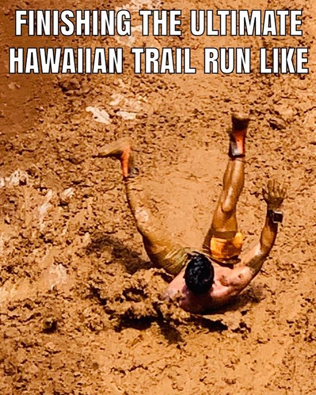 Fun times @ultimatehawaiiantrailrun . Good job for a well executed event and supporting all the keiki!  #ultimatehawaiiantrailrun  #luckywelivekauai  #crossfit  #truehumanpotential