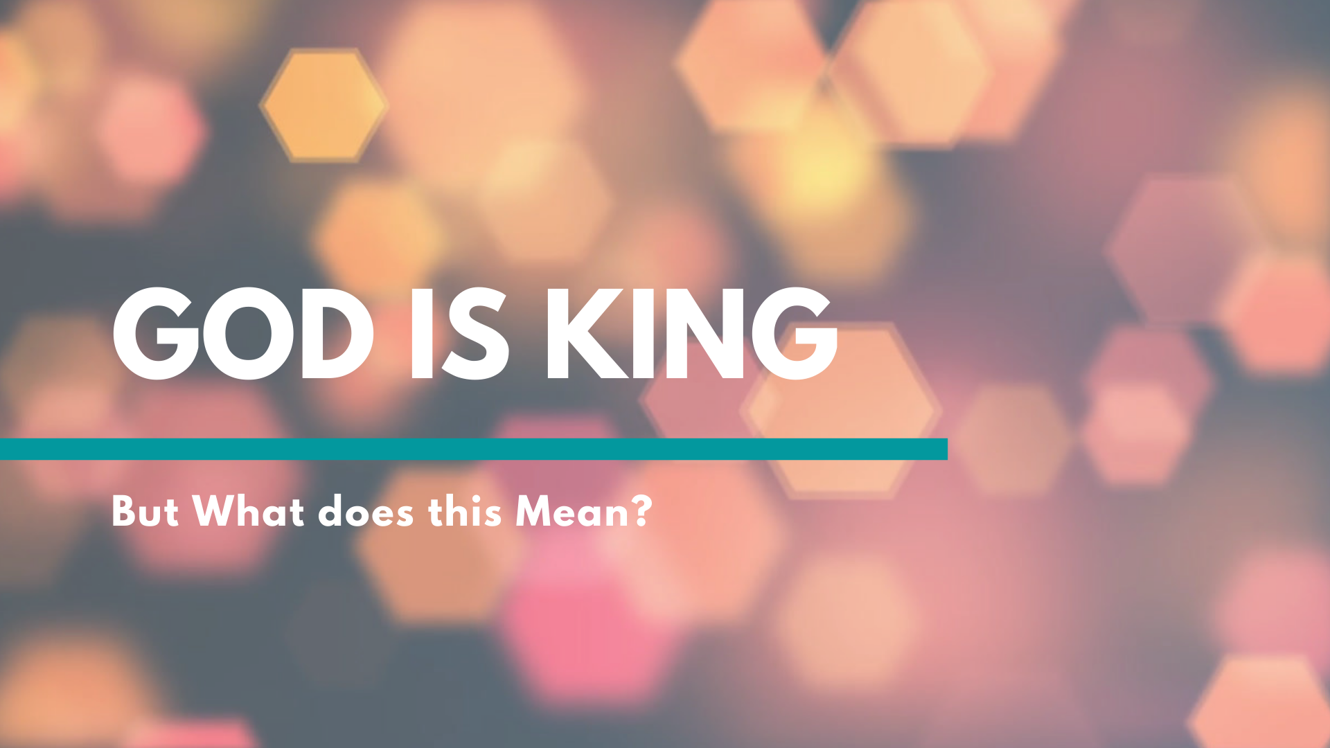 God is King.png