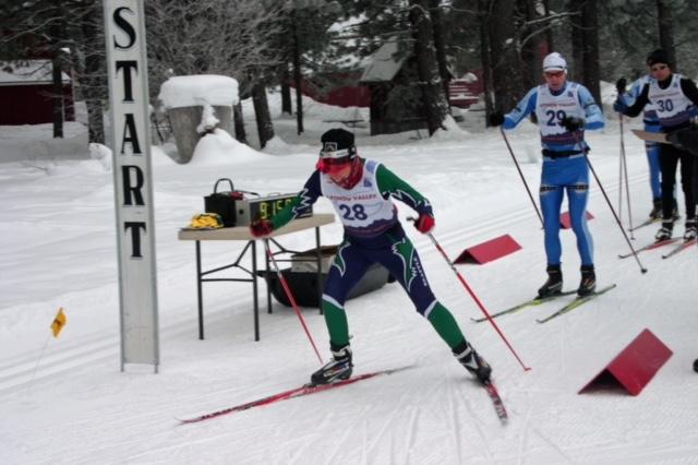 Mona Deprey, Masters Level Nordic Skier