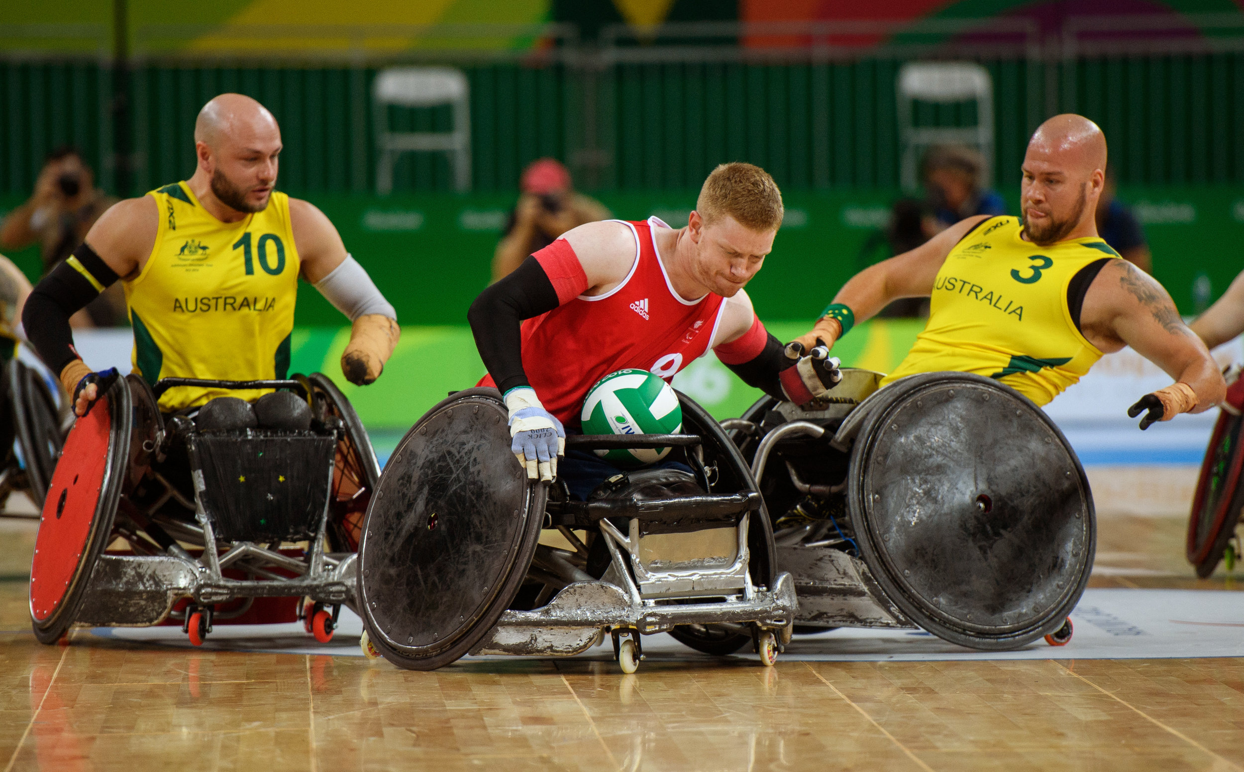 RIO 2016 WCR AUS vs GBR 2  Olympic Information Services OIS.JPG