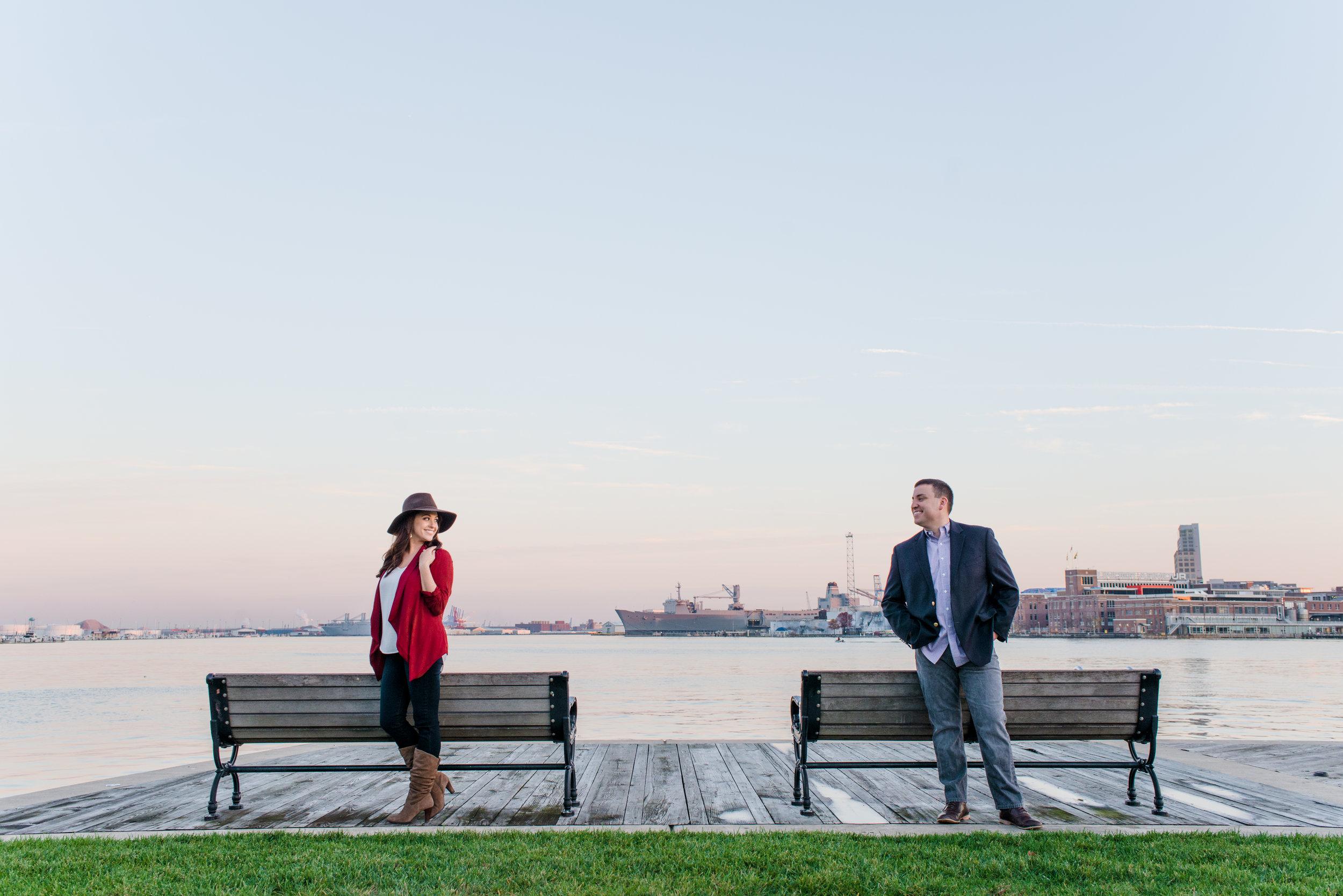 Alex & Paul | Inner Harbor :Baltimore, Maryland