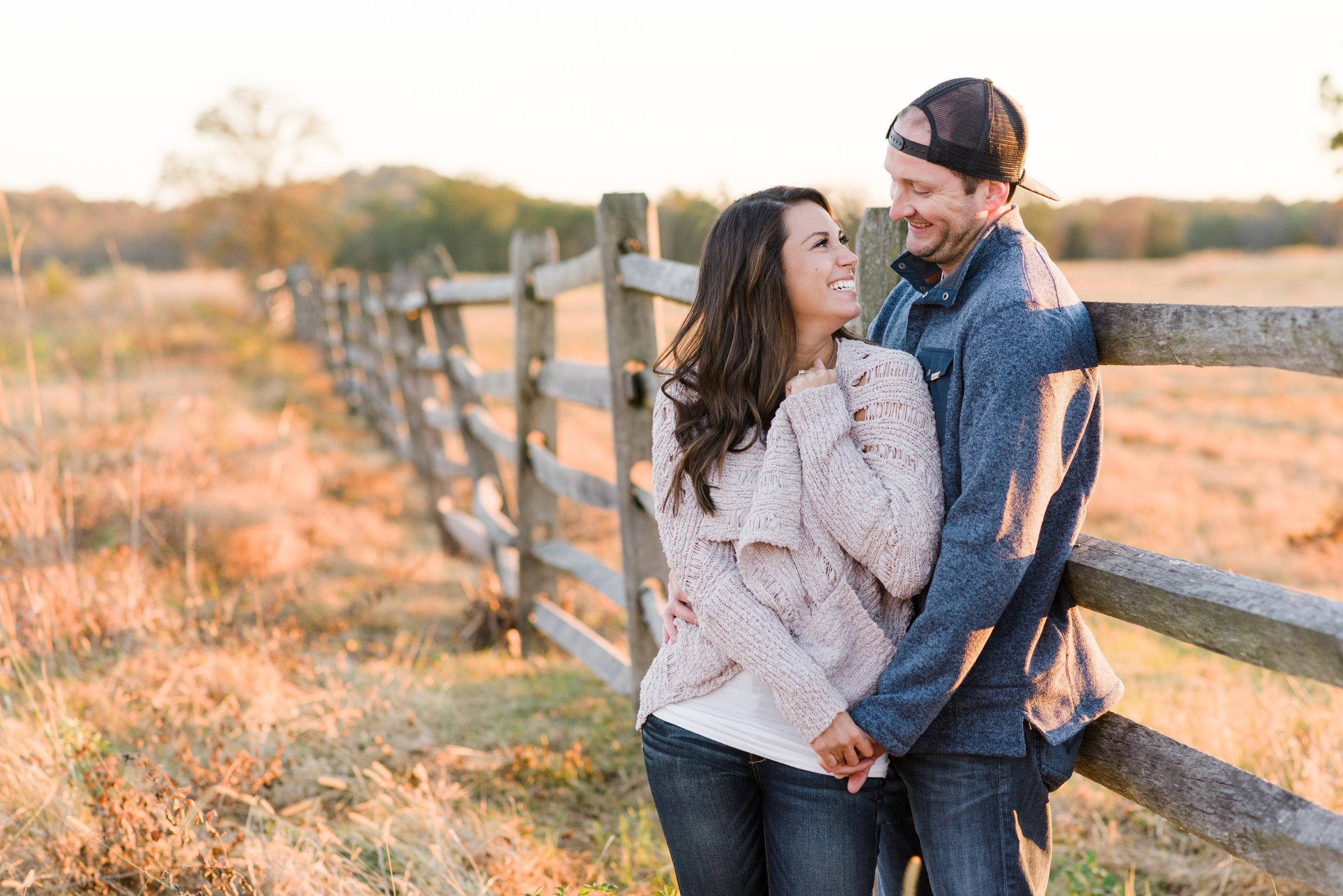 Michelle & Scott : Battlefields of Gettysburg, Pennsylvania