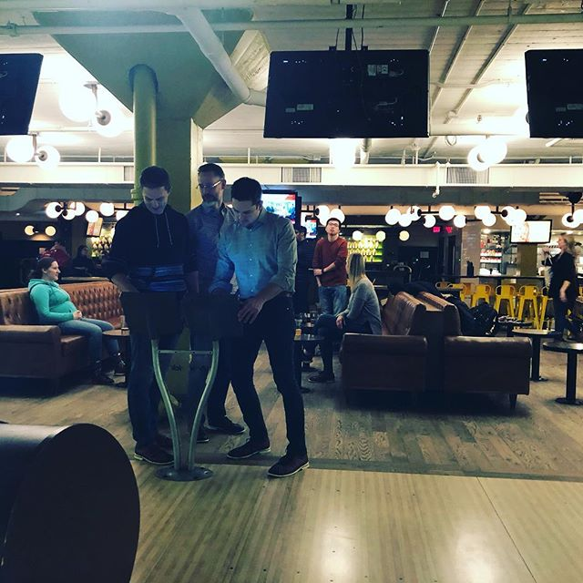 The Convergent team had such a great time @ntnlbowl Turns out a few folks on our team are great at bowling! Others... not so much.