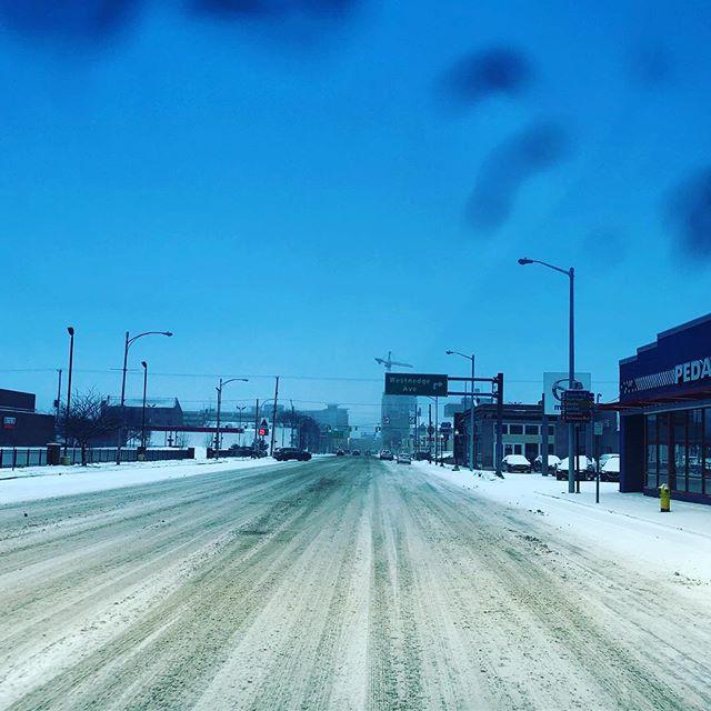 Drive careful out there Kalamazoo.