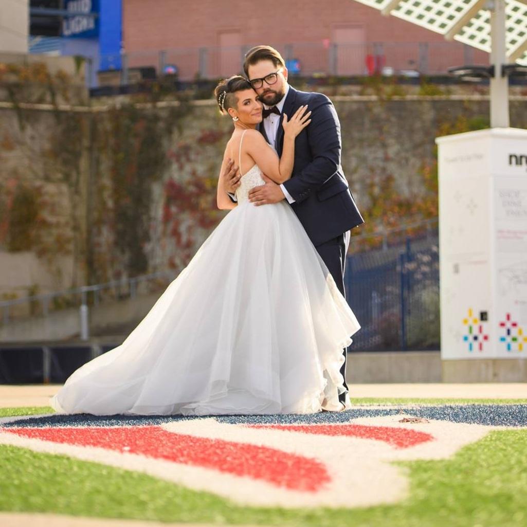 Patriots+Place+Wedding+Gillette+Stadium