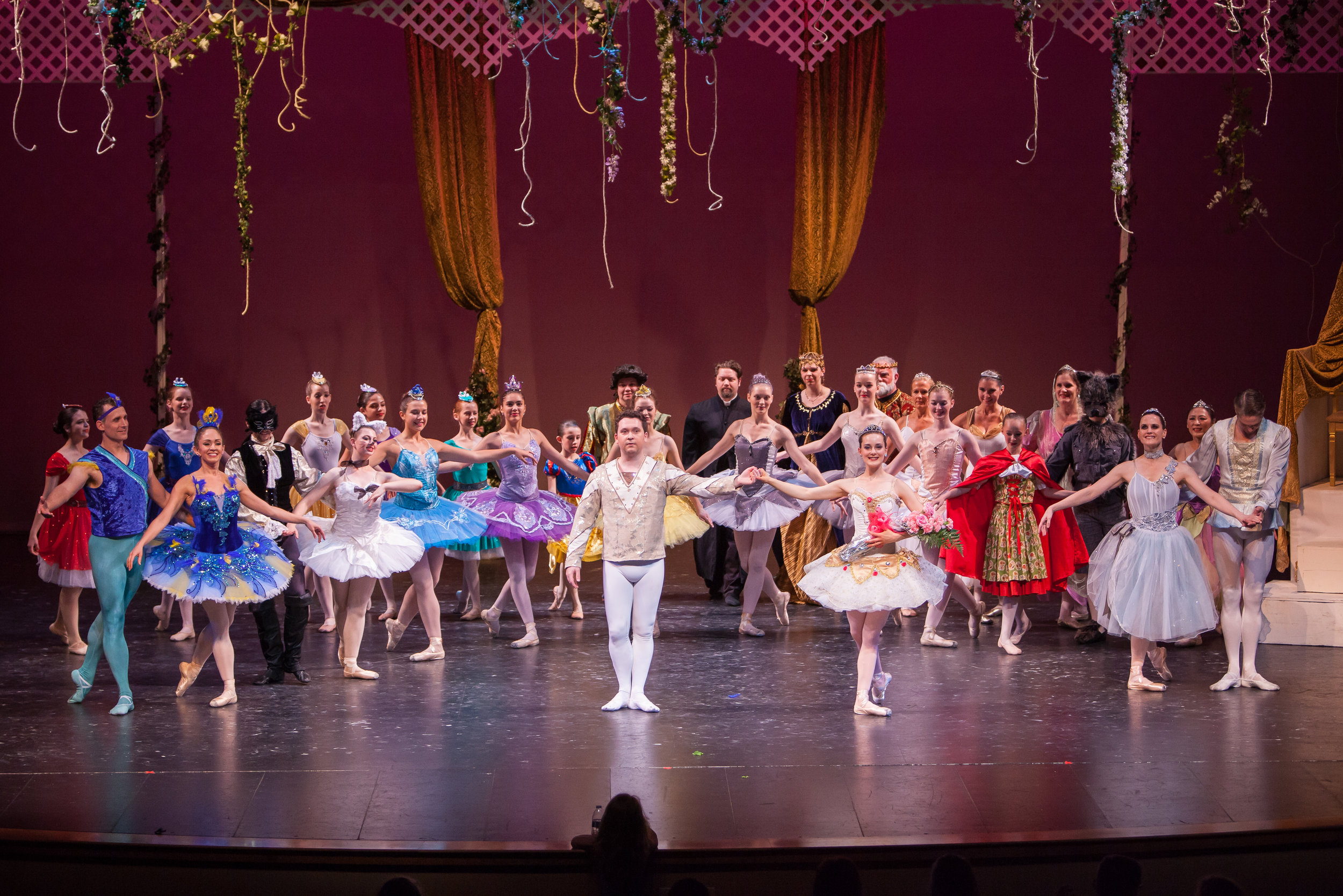 The Sleeping Beauty - One of Pyotr Ilyich Tchaikovsky's most favorite compositions in a 3 Act classical ballet, with all the whimsy and wonder you'd expect.